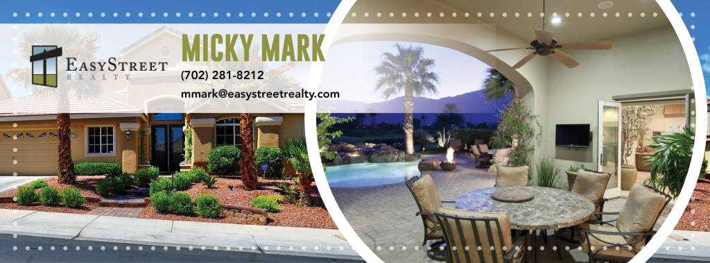Micky Mark Real Estate Consultant Las Vegas Nv