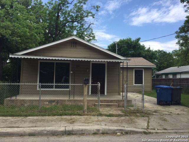 Home For Rent 1919 Hidalgo St San Antonio Tx 78207