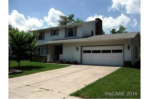 836 Westerly Dr, Lima, OH 45805