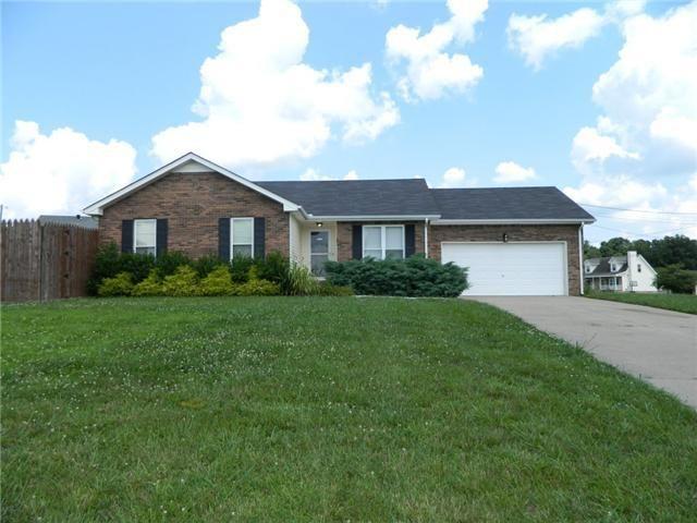 Home For Rent 3389 Endsworth Dr Clarksville Tn 37042