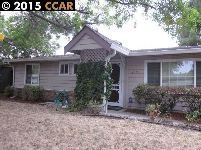 2343 gehringer dr concord ca 94520 home for sale and real estate listing
