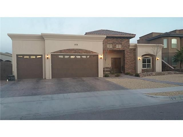 878 galestro pl el paso tx 79928 home for sale and for New housing developments in el paso tx