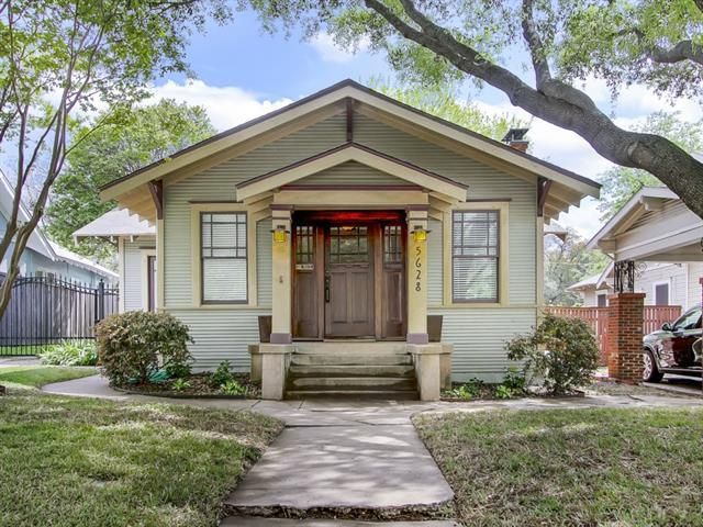 5628 richard ave dallas tx 75206 3 beds 1 baths home for Craftsman style homes for sale dallas tx
