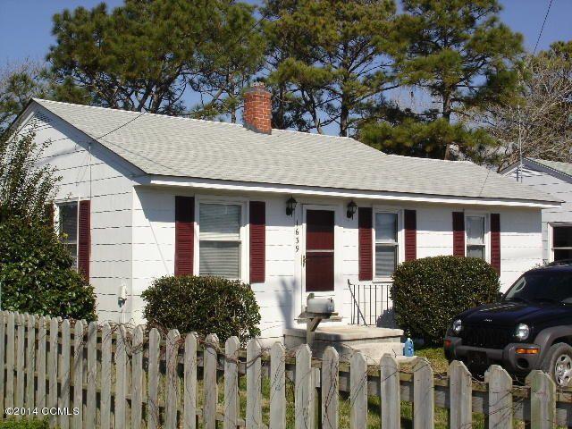 Home For Rent 1639 Live Oak St Beaufort Nc 28516