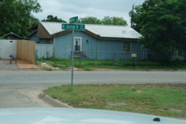 An Unaddressed San Angelo Tx 76903 Home Property Record