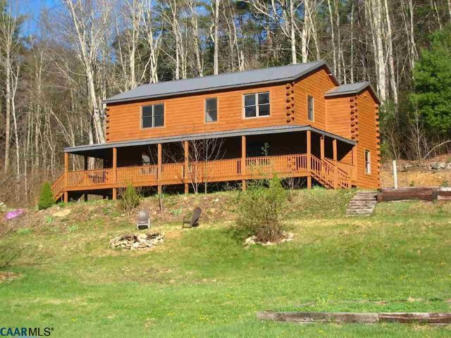 961 fork mountain ln montebello va 24464 for Montebello cabin rentals