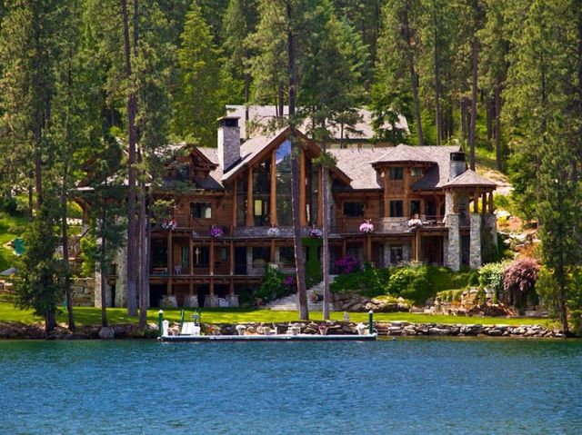 Celebrity Homes On Lake Coeur D Alene