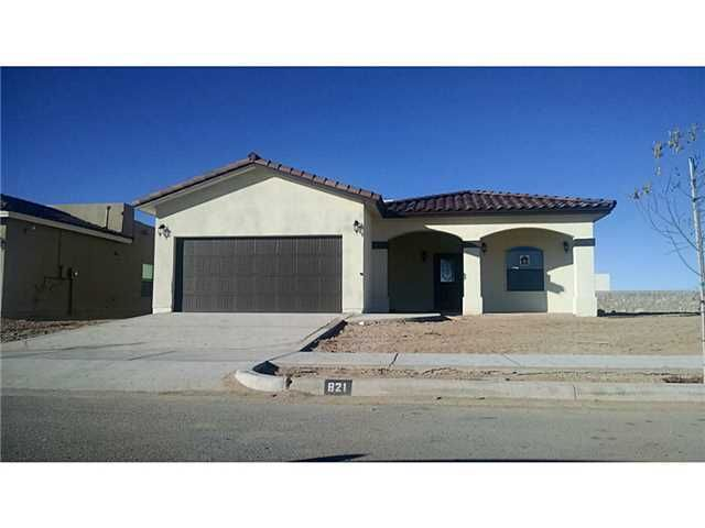 362 montoya vista ct el paso tx 79912 home for sale for New homes for sale in el paso tx