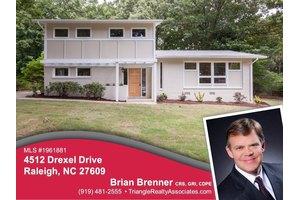 4512 Drexel Dr, Raleigh, NC 27609