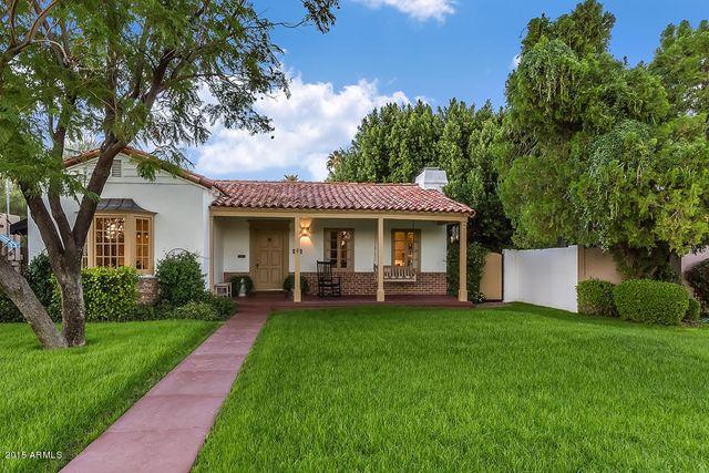 Historic District Phoenix Home Rentals