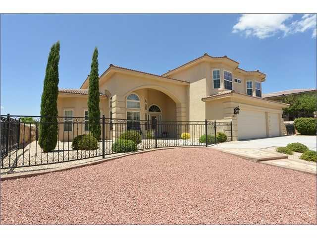 1451 cherokee ridge dr el paso tx 79912 home for sale for New homes el paso tx west side
