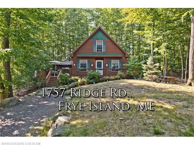 Homes For Sale In Frye Island Maine
