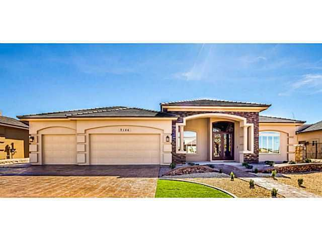 3152 crown rock dr el paso tx 79938 for New construction homes in el paso tx