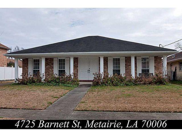4725 Barnett St, Metairie, LA 70006