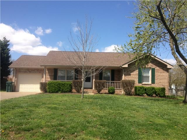 Home For Rent 1042 Angela Dr Clarksville Tn 37042