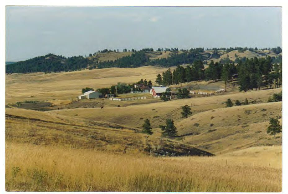 grass range In 1884 and contains 35580 acres all in one block of which 19900 acres are  deeded with a convenient highway location 36 miles east of grass range,  montana.