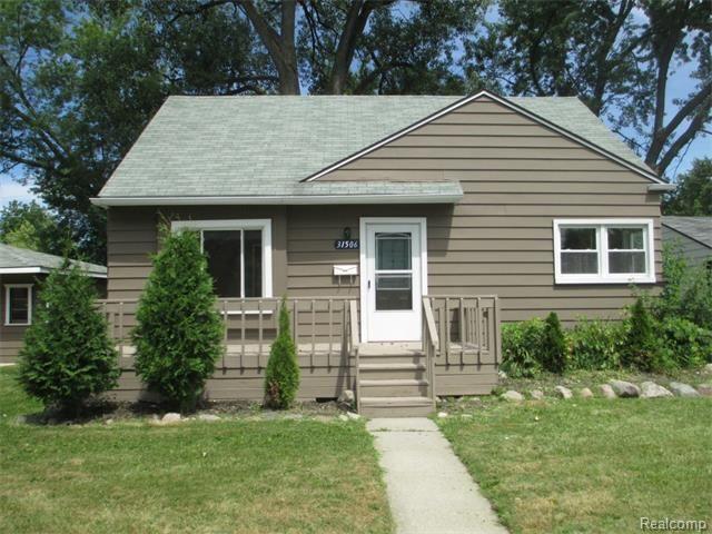 Home For Rent 31506 Pierce St Garden City Mi 48135