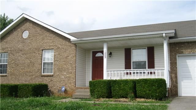 Home For Rent 1223 Crystal Dr Clarksville Tn 37042