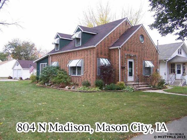 804 n madison ave mason city ia 50401 for Maison mason