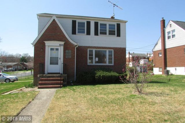 1500 seling ave baltimore md 21237 home for sale and for Homes for sale in baltimore