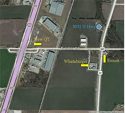 Map Of Texas Highway 77.3051 N Highway 77 Waxahachie Tx 75165 Realtor Com