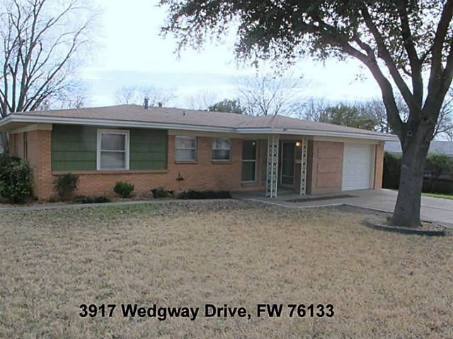 3917 Wedgway Dr, Fort Worth, TX 76133