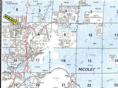 Homes For Sale Florence County Wi