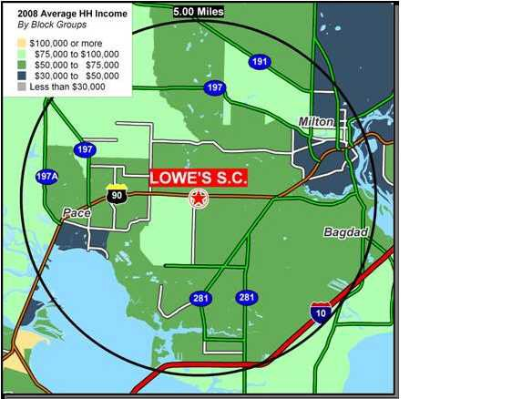 Pace Florida Map.5143 Highway 90 Pace Fl 32571 Realtor Com