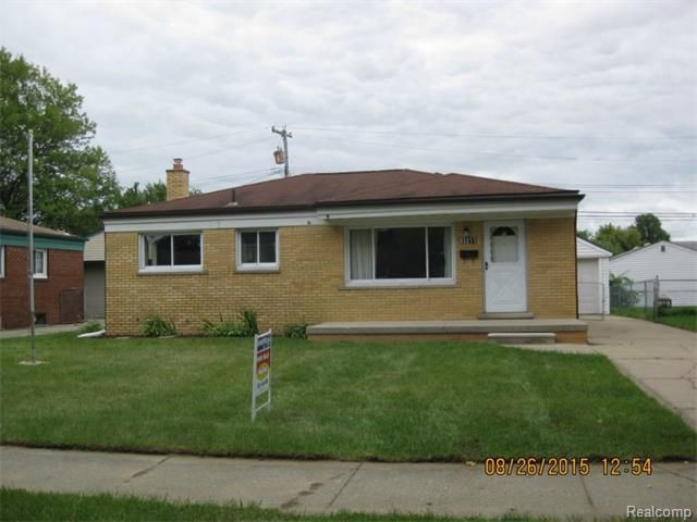 33211 Florence St Garden City Mi 48135 Home For Sale