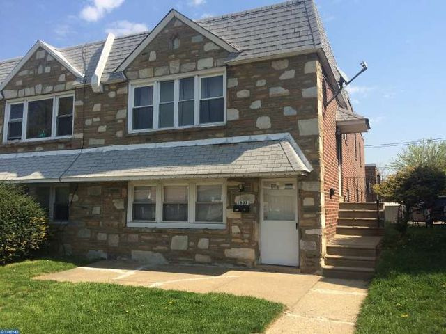 home for rent 1607 griffith st philadelphia pa 19111