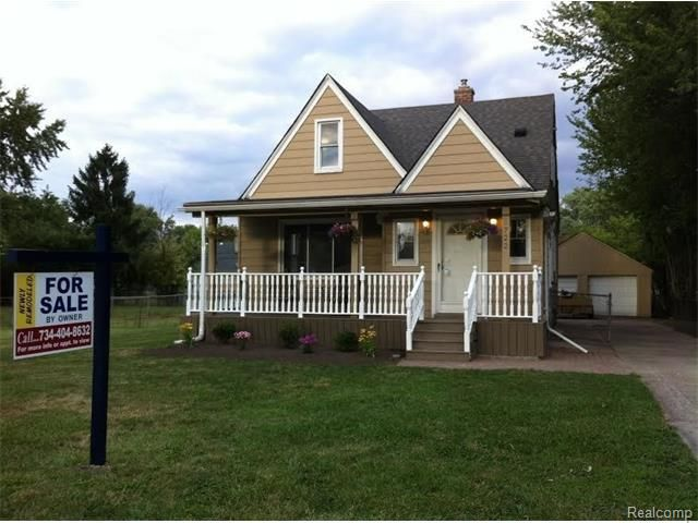 1722 Deering St Garden City Mi 48135 Home For Sale And