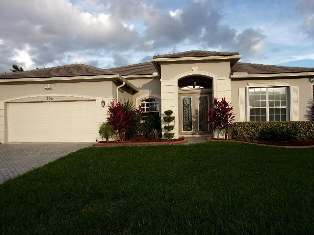 an overview of the property on the saint lucie river Home for sale at 11931 sw aventino drive port saint lucie, fl 34987, with mls rx-10448793.
