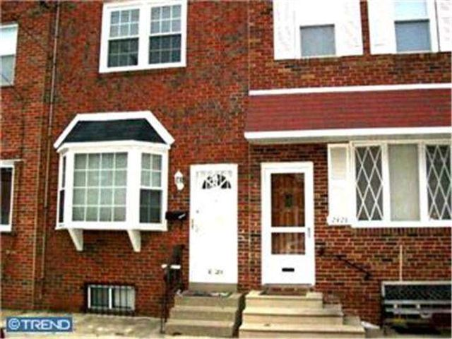 Home For Rent 2430 E Clearfield St Philadelphia Pa
