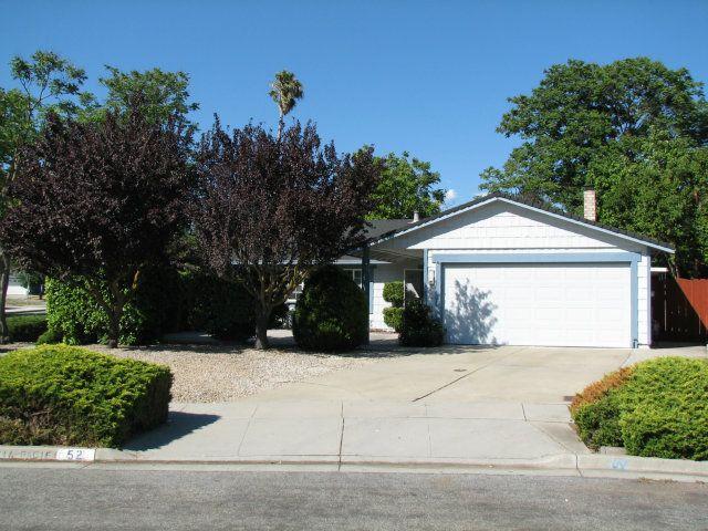 52 Avenida Grande San Jose, CA 95139