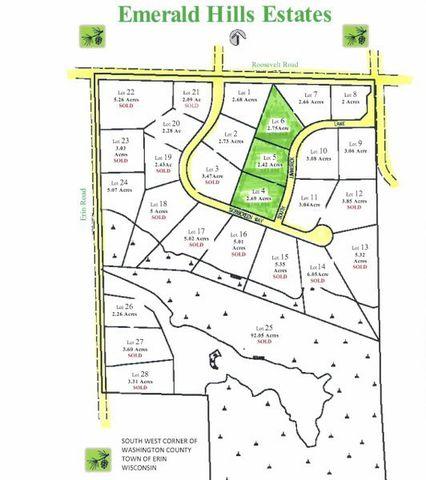 7 86 Acres Emerald Hills Ests Town Of Erin Wi 53027 Realtor Com