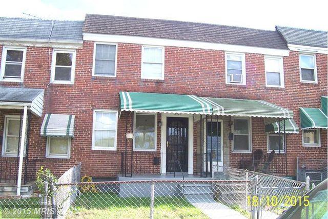 home for rent 2433 ashton st baltimore md 21223