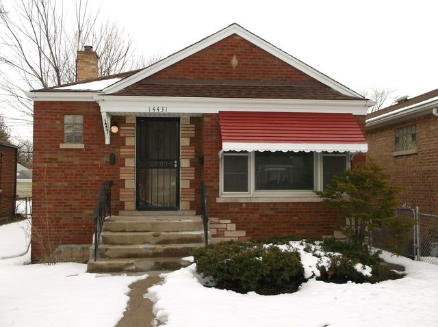 14431 S Wallace Ave Riverdale Il 60827 Home For Sale