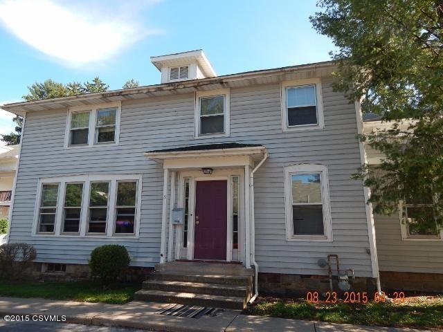 Rental Property Lewisburg Pa