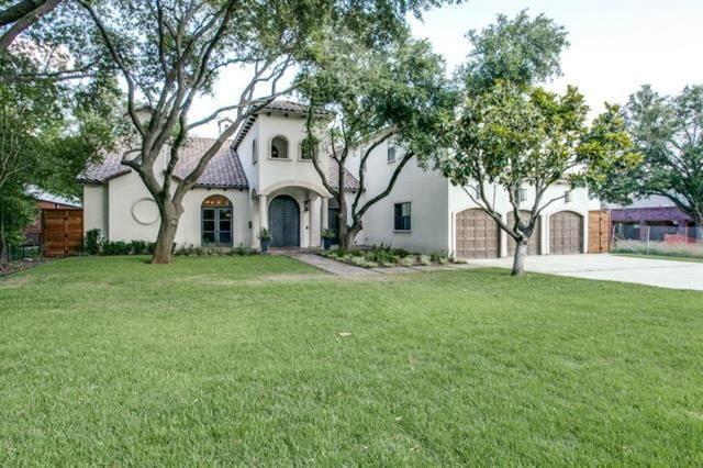 4512 bluffview blvd dallas tx 75209 home for sale and for Spanish style homes for sale in dallas tx