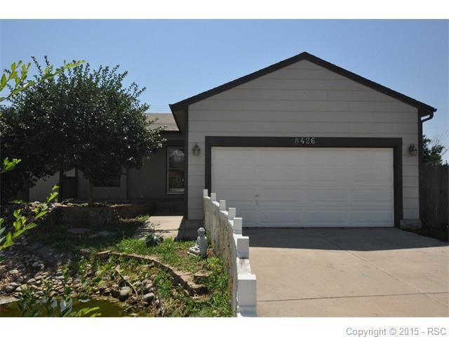 8426 dassel dr fountain co 80817 home for sale and real estate listing