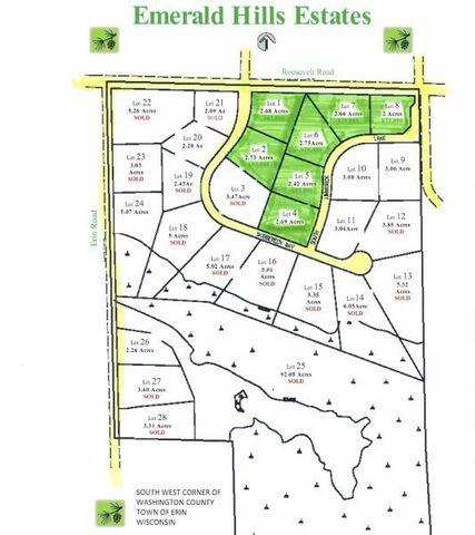 17 93 Acre Emerald Hills Ests Town Of Erin Wi 53027 Realtor Com