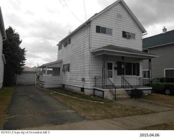 249 Poplar St Dickson City Pa 18519 Foreclosure For