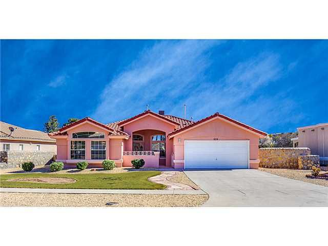 624 Coral Willow Dr El Paso Tx 79922 Home For Sale And Real Estate Listing