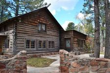2 Log House, Glorieta, NM 87535