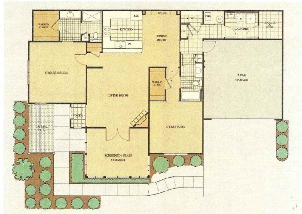 4614 ironstone ln west lafayette in 47906 for Kitchen design 47905