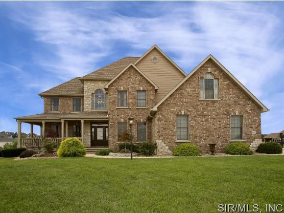 3907 stone hollow ln edwardsville il 62025 home for