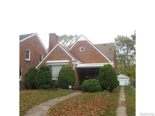 16606 rosemont ave detroit mi 48219 foreclosure for sale