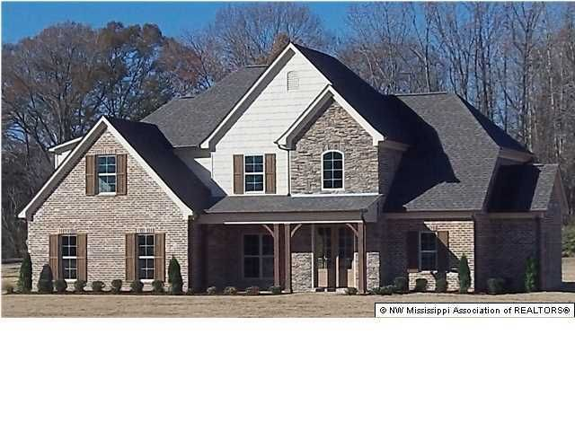 12570 Miller Farms Dr Olive Branch Ms 38654 New Home For Sale