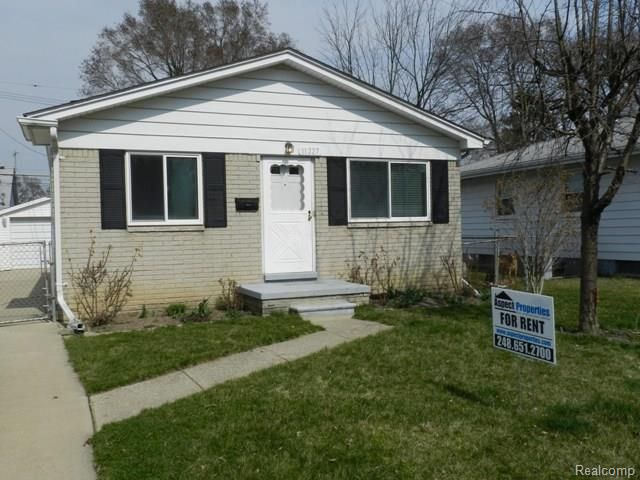 home for rent 11227 maxwell ave warren mi 48089