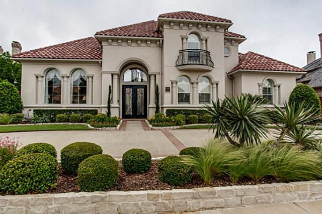 5056 castle creek ln plano tx 75093 for Beautiful mediterranean homes